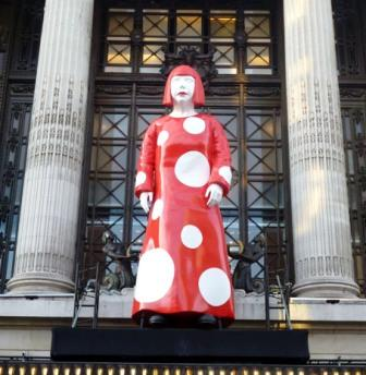 Kusama at Selfridges