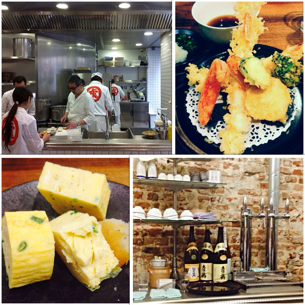 udon , tempura, japanese omlette, kunitorya, paris, villedo